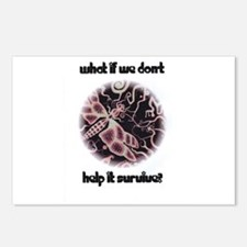 Funny Environmentalism Postcards (Package of 8)