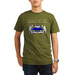 Ghost Ride It Organic Men's T-Shirt (dark)