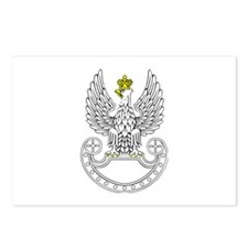 Polish Army Eagle Postcards (Package of 8)