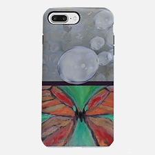 Butterfly Bubbles iPhone 7 Plus Tough Case