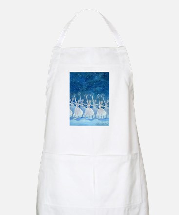 Dance of the Snowflakes Ballet BBQ Apron
