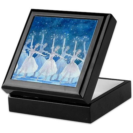 Dance of the Snowflakes Ballet Keepsake Box