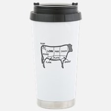 Beef Diagram Travel Mug