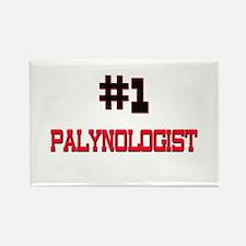 Number 1 PALYNOLOGIST Rectangle Magnet