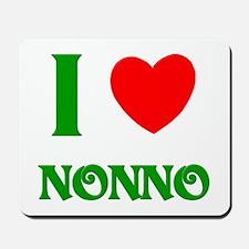 I Love Nonno Mousepad