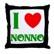 I Love Nonno Throw Pillow