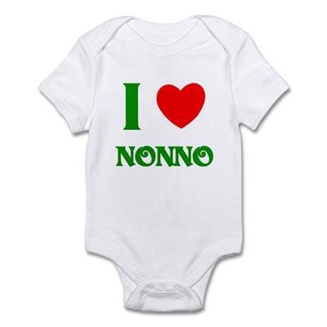 I Love Nonno Infant Creeper