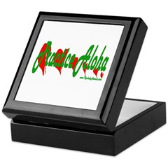 Practice Aloha Keepsake Box