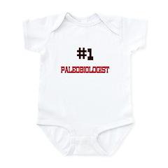 Number 1 PALEOBIOLOGIST Infant Bodysuit