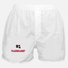 Number 1 PALEOBIOLOGIST Boxer Shorts