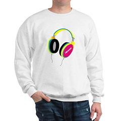 House Music Headphones Sweatshirt