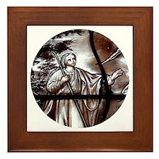 """""""Glass-vitrail 1-1"""" Framed Tile"""