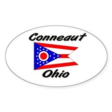 Conneaut Ohio Oval Decal