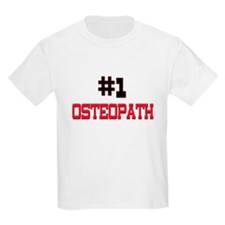 Number 1 OSTEOPATH T-Shirt