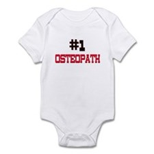 Number 1 OSTEOPATH Infant Bodysuit