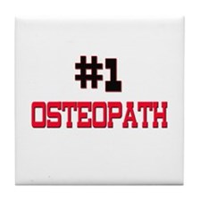 Number 1 OSTEOPATH Tile Coaster