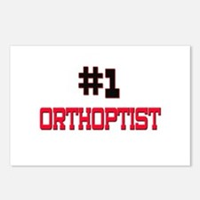 Number 1 ORTHOPTIST Postcards (Package of 8)