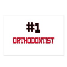 Number 1 ORTHODONTIST Postcards (Package of 8)
