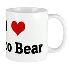 I Love Coco Bear Mug