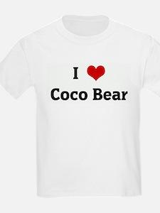 I Love Coco Bear T-Shirt