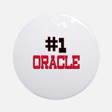 Number 1 ORACLE Ornament (Round)