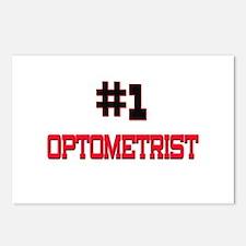 Number 1 OPTOMETRIST Postcards (Package of 8)