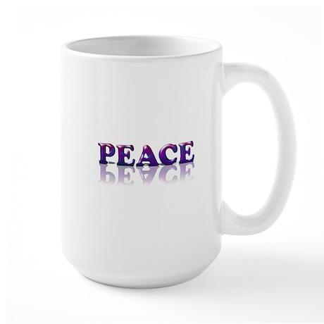 All Kinds of Peace Large Mug