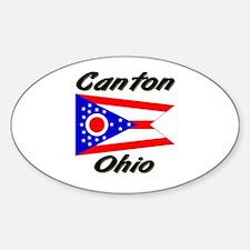 Canton Ohio Oval Decal