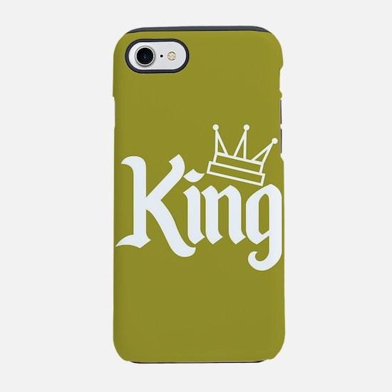 King Gold iPhone 7 Tough Case