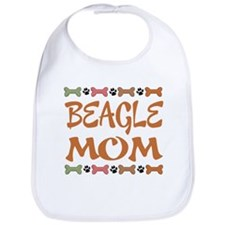 Cute Beagle Mom Bib
