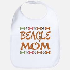 Cute Beagle Mom Bib