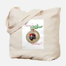 Black Pygora Goat Baby Tote Bag