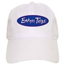 Earth Tribe Blue Logo Baseball Cap
