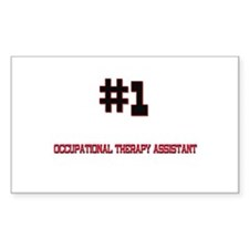 Number 1 OCCUPATIONAL THERAPY ASSISTANT Decal