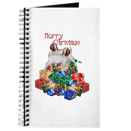 Boer Goat Christmas Journal