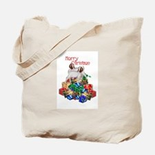 Boer Goat Christmas Tote Bag