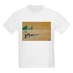 Fence in the Marsh T-Shirt