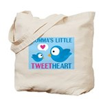 MOMMA'S LITTLE tweet HEART Tote Bag