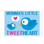 MOMMA'S LITTLE tweet HEART Postcards (Package of 8