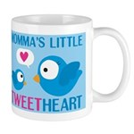 MOMMA'S LITTLE tweet HEART Mug