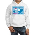MOMMA'S LITTLE tweet HEART Hooded Sweatshirt