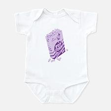 Purple Retro Drive-in Popcorn Infant Bodysuit
