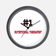 Number 1 NUTRITIONAL THERAPIST Wall Clock