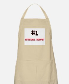 Number 1 NUTRITIONAL THERAPIST BBQ Apron