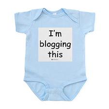 I'm blogging this - Infant Creeper