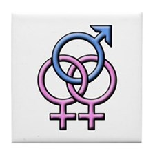 SWINGERS SYMBOL FMF Tile Coaster