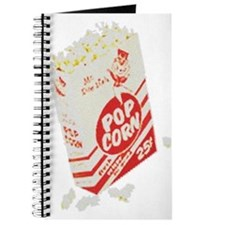 Color Retro Drive-in Popcorn Journal