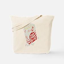 Color Retro Drive-in Popcorn Tote Bag