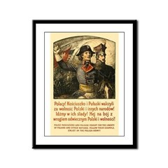 Benda Kosciuszko/Pulaski Framed Panel Print