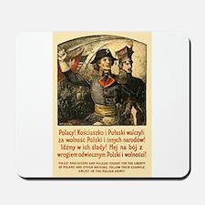 Benda Kosciuszko/Pulaski Mousepad